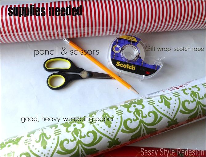 pixie stick wreath supplies