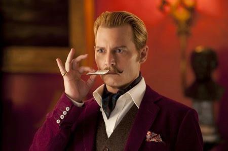 Johnny Depp is Mortdecai