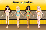 Dress up Barbie