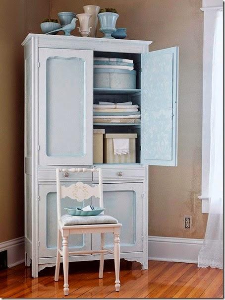armoire - bhg - linen closet