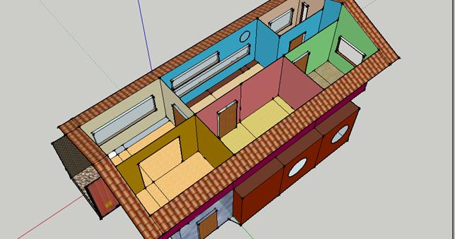 Casas container el interior de una casa container - Diseno de contenedores ...