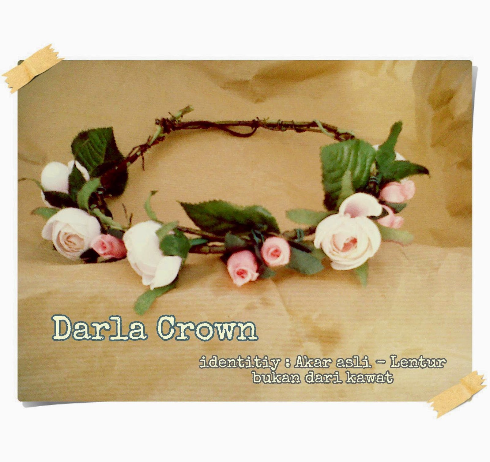 Jual flower crown mahkota bunga jual flower crown cocok bgt buat pelengkap buat gaya pelengkap aksesoris rambut gift kado buat orang tercinta prewedding photo wedding fashion hijab selfie izmirmasajfo Image collections
