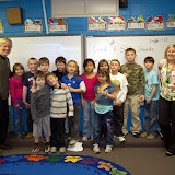 WBFJ Cici's Pizza Pledge - Francisco Elementary School - Ms. Cowen's 2nd Grade Class - Westfield - 1