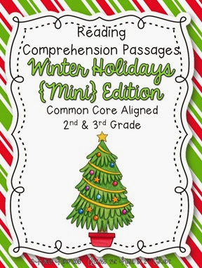 Christmas Comprehension Cover