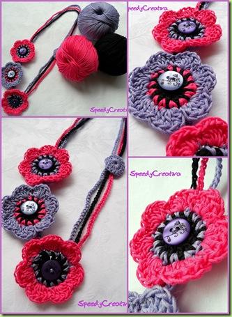 fiori crochet e lana roberta