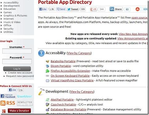 Scaricare programmi portatili per CodySafe da PortableApps