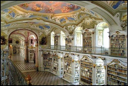 Bibliothèque de l'abbaye bénédictine d'Admont, Autriche -2