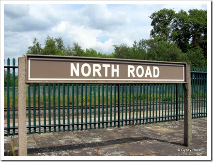 Ex North Eastern Railway station Darlington.
