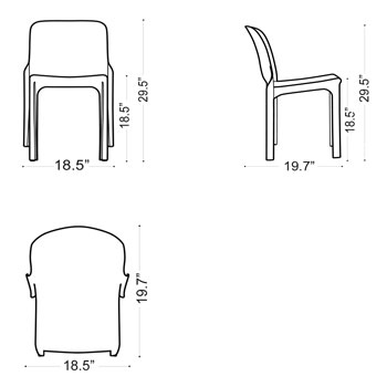 Selene chair schematic