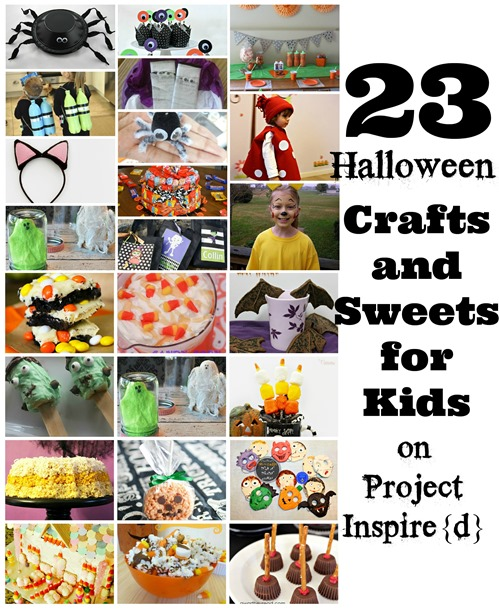 Halloween Crafts and Sweets for Kids on Project Inspired