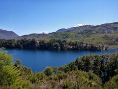 Pristine lakes on the Ruta de Siete Lagos, Argentina.