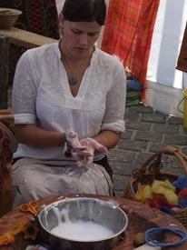 haciendo cosas artesanas en Budapest