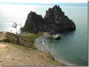 274-Olkhon rocher des chamanes