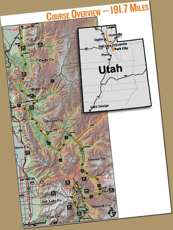 Wasatch Back Map