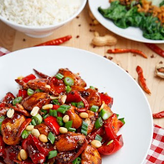 Chinese Kung Pao Chicken Recipes