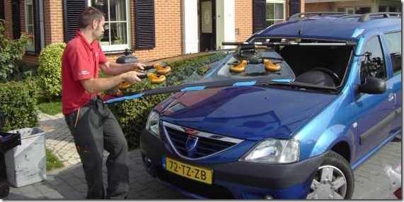 33a Dacia vervangen voorruit
