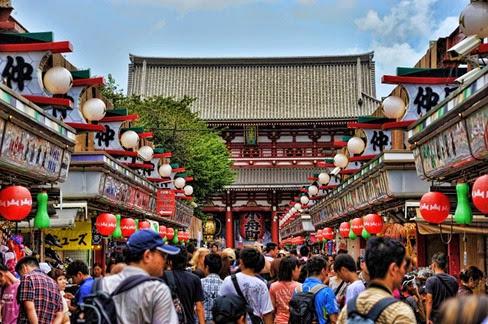 turistas no Japão