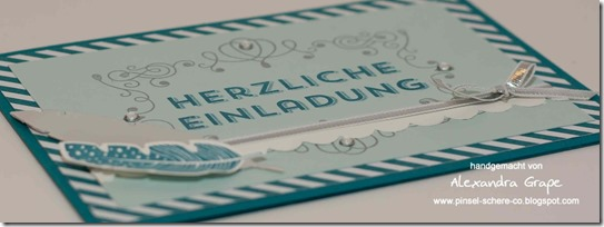 stampin-up_einladung_four-feathers_federn_Winterwerke_petrol_encore-silber_aufgeblüht_alexandra-grape_02