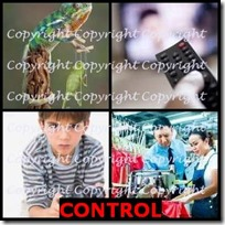 CONTROL- 4 Pics 1 Word Answers 3 Letters