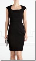 Coast Black Dress