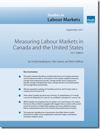 Measuring Labour Markets in Canada and the United States 2011