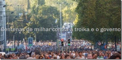 Manif.15 de Setembro - Lisboa. oclarinet.blogspot.com Set.2012
