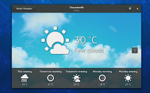 Gnome Weather 3.9.3