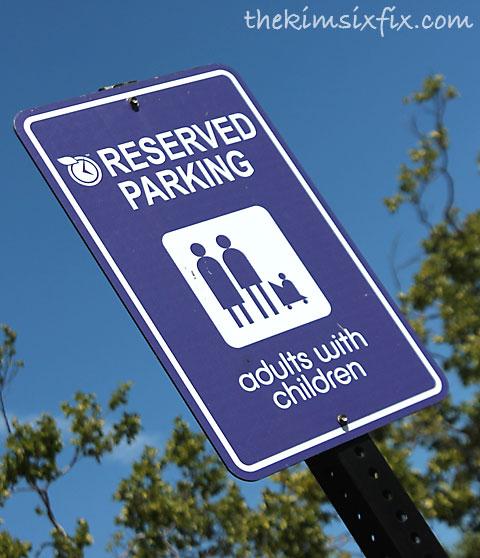 Small children parking