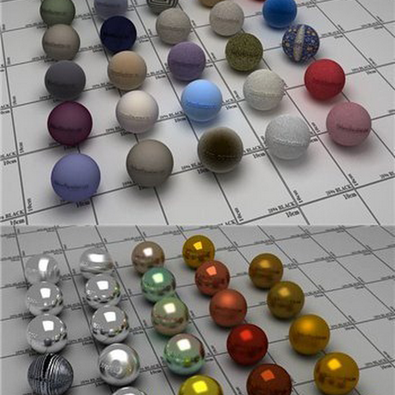 1000 Vray Materials Collection
