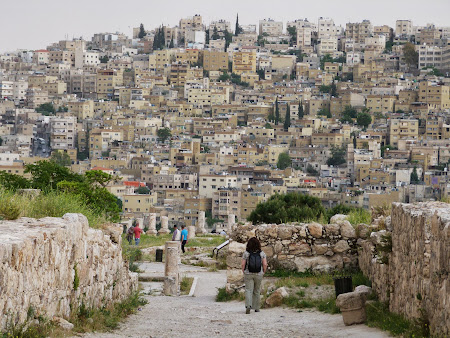 Obiective turistice Iordania: Citadela din Amman
