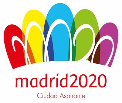 Madrid 2020 Ciudad Aspirante logo