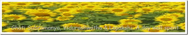Ghati Subramanya, Vidurashwatha & Lepakshi: A day well spent