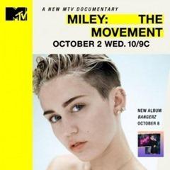 """""""The Movement"""" es el nuevo documental de Miley Cyrus en MTV"""