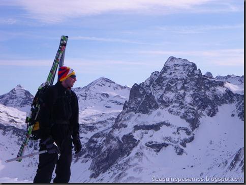 Pico de Canal Roya 2345m con esquis (Portalet, Pirineos) (Isra) 7332