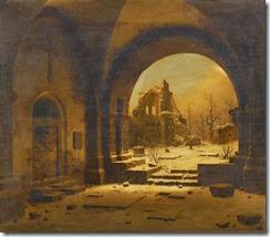 Carl Georg Adolph Hasenpflug Ruine des Klosters Heisterbach
