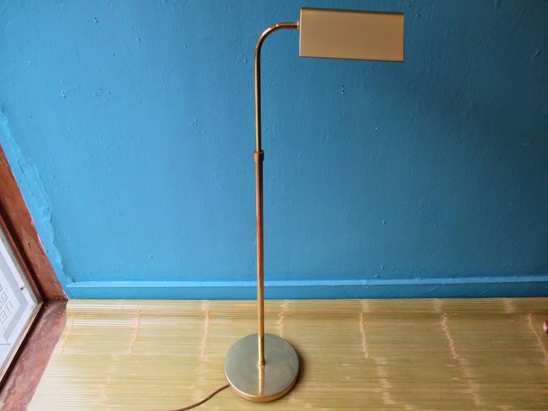 Brass Floor Lamp 1