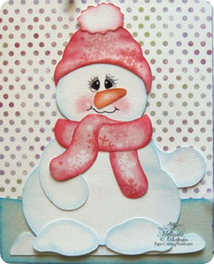 snowman close up350
