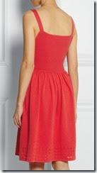 Alice by Temperley Red Summer Dres Back View
