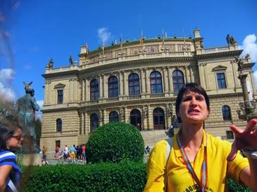 Diana, la guía de Praga