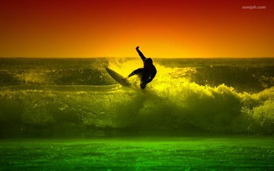 papel de parede surf reggae 07
