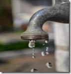 Garden tap leak