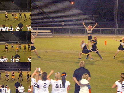 View Cheerleaders Powder Puff
