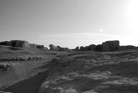 Turfan - Ruines de Jiaohe 2