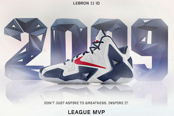 A Decade of Moments  NIKEiD LeBron XI 8220League MVP8221