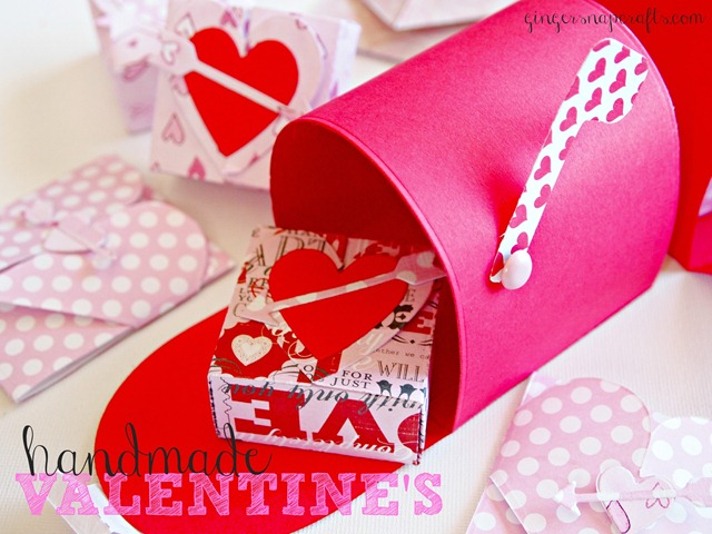 handmade valentines with Lifestyle Crafts