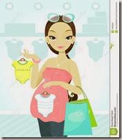 dibujos mujeres embarazadas (4)