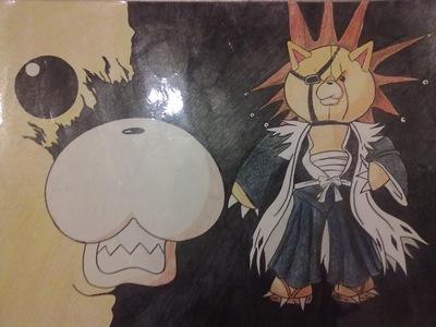 KONpachi, Fan Art de Ercia Torres