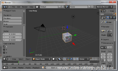 Blender Animation mboir