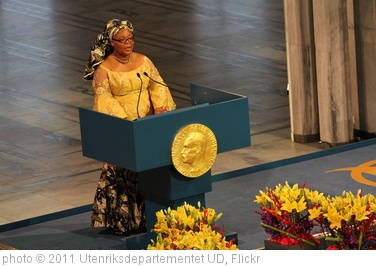 'Utdeling av Nobels fredspris 2011' photo (c) 2011, Utenriksdepartementet UD - license: http://creativecommons.org/licenses/by-nd/2.0/