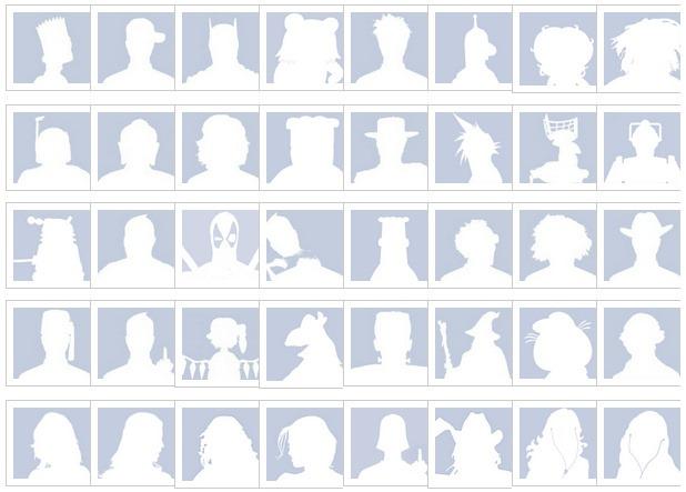 facebook default pics